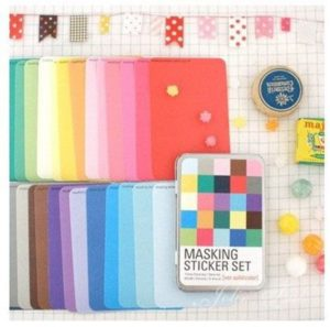 Colorful sticker paper for planners