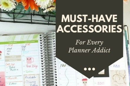 The Biggest Roundup of Planer Accessories for every Planner Addict