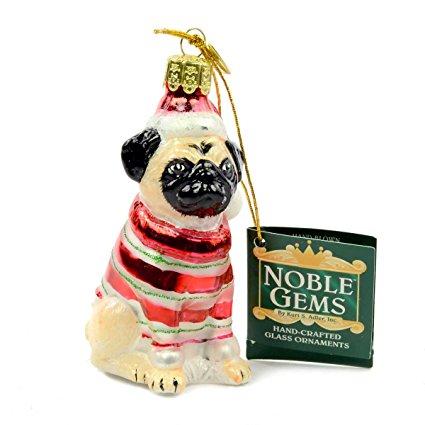 Pug ornament. Pug stuff for every pug lover