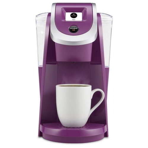 Purple Violet Keurig Coffee Maker. Best gifts for busy moms.