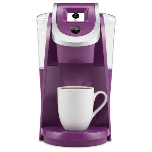 Purple Violet Keurig Coffee Maker. Best gifts for busy moms.