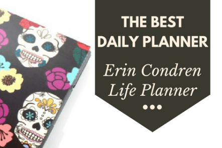 The Erin Condren Life Planner is the best planner for staying organized.