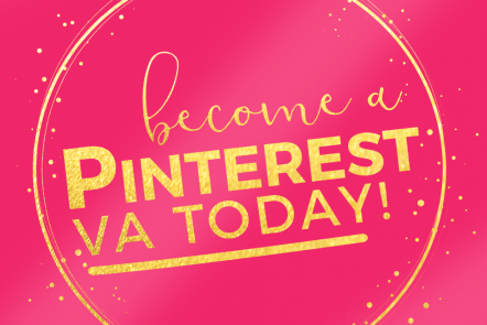 great work-at-home job- become a Pinterest VA