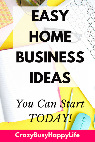 Check out these great home business ideas for work at home moms. Do you want to spend more time with your children but still need to make money? Try these ideas. They are easy. #makemoneyonline #wahm #workathome #workfromhome #homebusiness