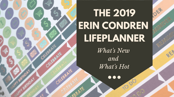 The 2019 Erin Condren Life Planner: What's New and What's Hot