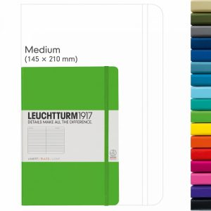 The Leuchtturm 1917 is one of the most popular notebooks to create a bullet journal