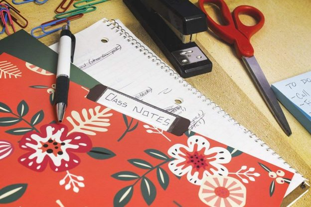 colorful file folders. cute organization tips for your home office