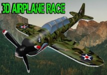 3D Airplane Race Simulator