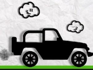 Paper Monster Truck