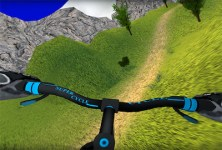 MTB Hill Bike Rider