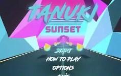 Tanuki Sunset (Skateboard)