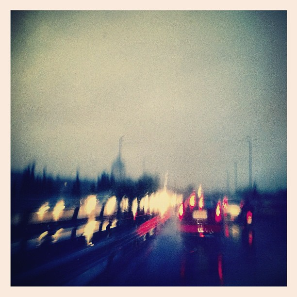 Seeking into the rain