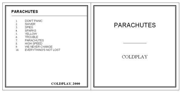 cd sleeve template word