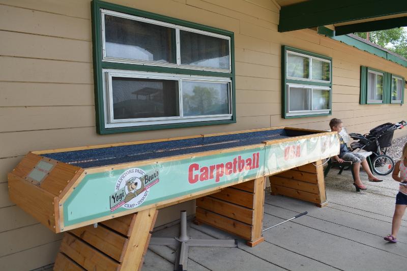 things to do at yogi bear caledonia - Carpet Ball Table