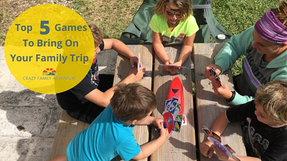 Top 5 Family Travel Games