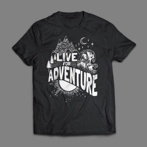 Live For Adventure T-Shirt