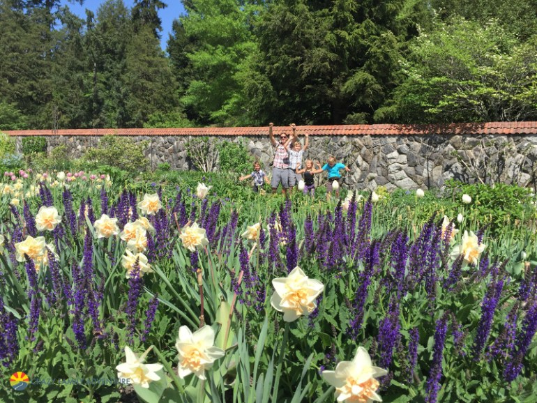 Gettin crazy in the gardens of the Biltmore