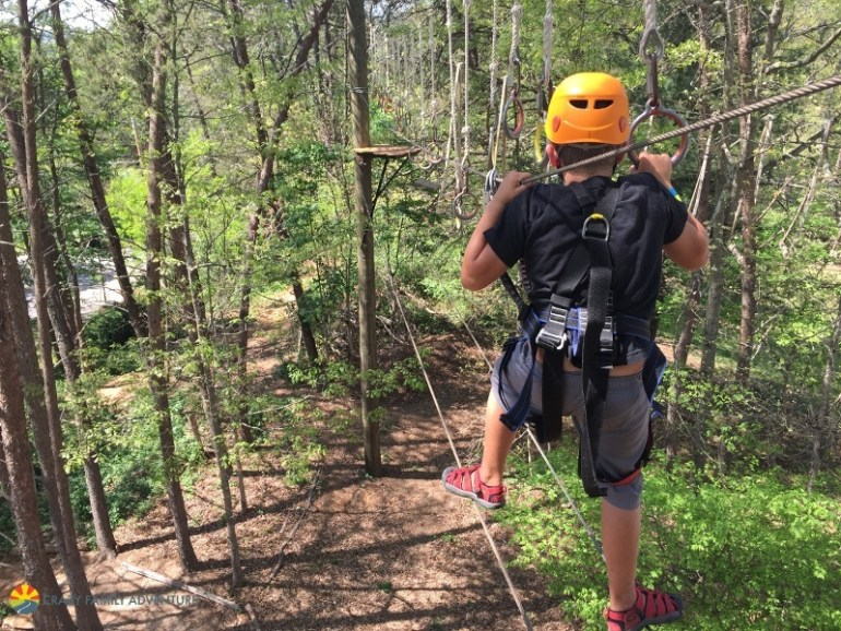 Things to do in asheville with kids - Adventure Center of Asheville