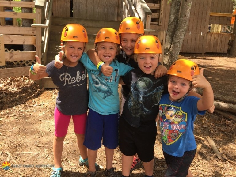 Adventure Center of Asheville - great place to visit with kids in Asheville NC