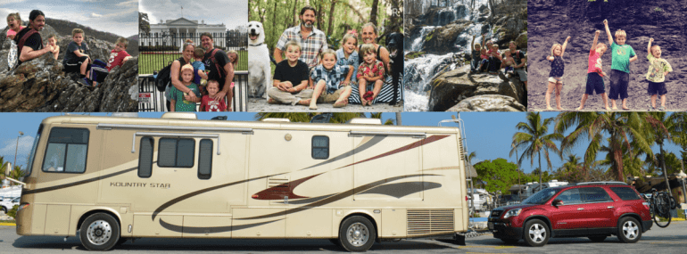 What being a full time RV family looks like