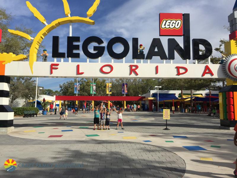 Visit Legoland on The Ultimate Florida Road Trip