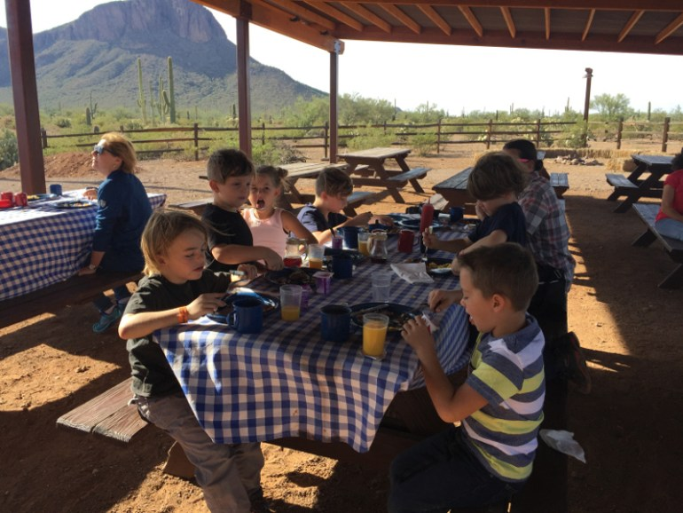 Add white stallion ranch breakfast to your list of things to do in Tucson with kids
