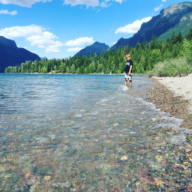 Lake McDonald is a great thing to do in Glacier National Park with kids.