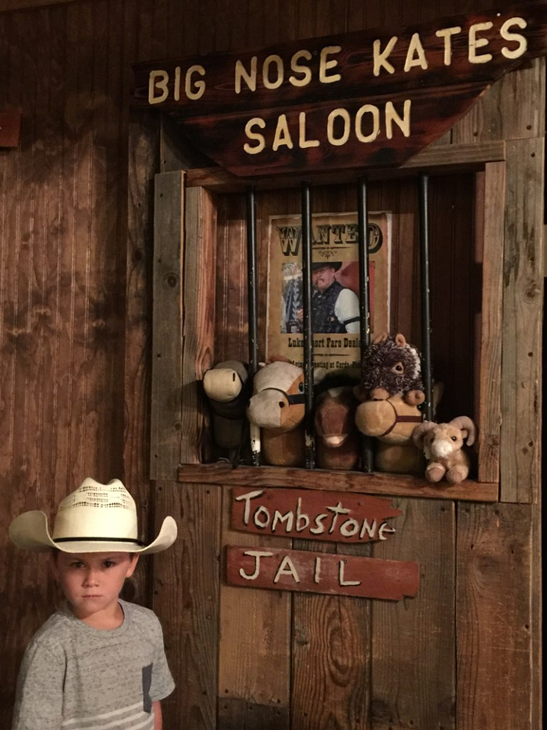 Big Nose Kates Sallon is a great place to visit by Tucson with kids