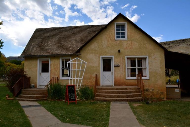 Stop in the Gifford House for a baked good on your Utah road trip