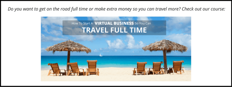 How To Start A Business So You Can Travel Full Time