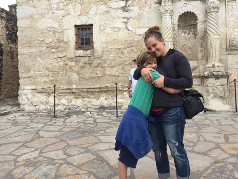 The Alamo turned out to be a pretty cool place to hang out and to learn a few things!