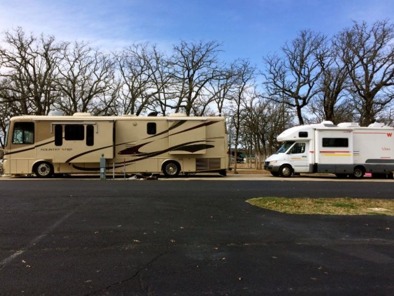 Downsizing from a 39' Newmar to a 23' Winnebago
