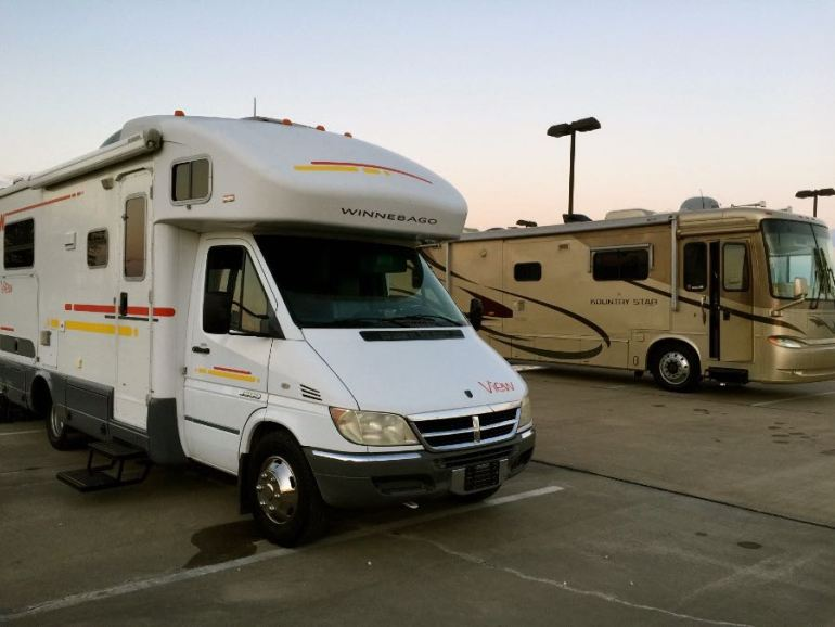 Downsizing our RV was definitely a challenge, but so far has been great!