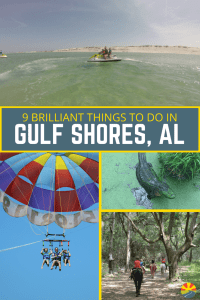 9 Brilliant Things To Do In Gulf Shores, Alabama from Alligators to Dolphins and Castles and Farms this is your complete guide to a great time!