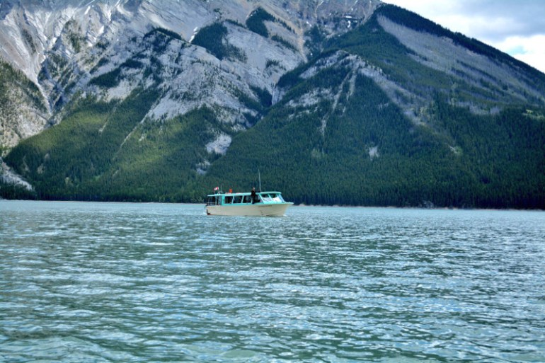 Cruising Lake Minnewanka is one of the great Banff attractions.