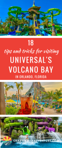 18 Tips and Tricks For Visiting Universal's Volcano Bay in Orlando Florida. We were so excited to head to the beautiful and tropical Universal Volcano Bay with our 4 kids! Here is our list of 18 things we wish we would have known before we went! #VolcanoBay #Universal #Florida #FamilyTravel #Waterparks