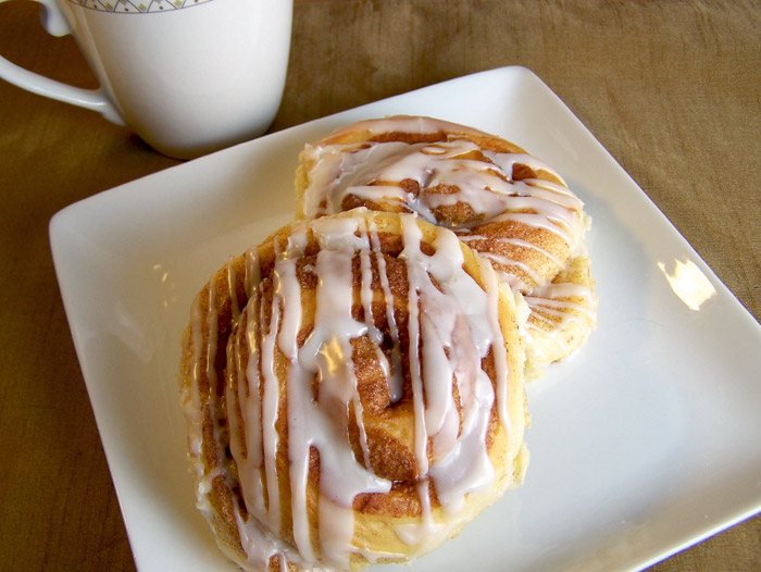 Cinnamon Roll and Icing