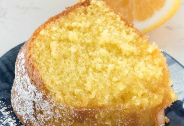 Easy Lemon Butter Cake Crazy For Crust