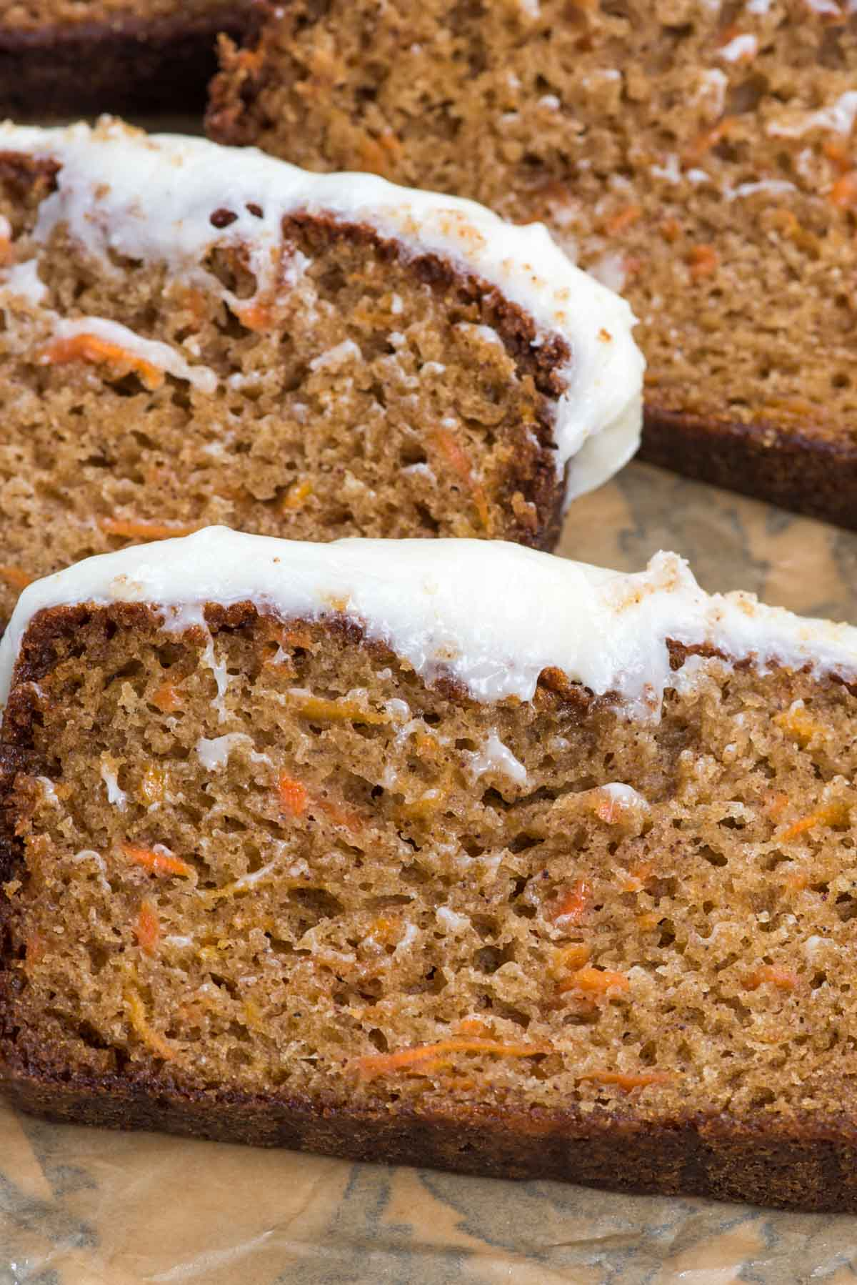 The Best Carrot Cake Loaf Cake Crazy For Crust