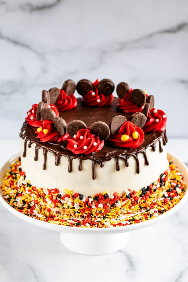 Mickey Mouse Cake Crazy For Crust