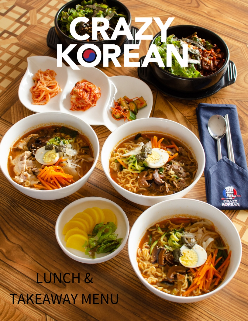 Crazy Korean Lunch Specials