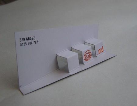Ben Grosz business card design