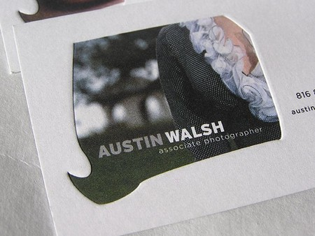 Austin Walsh business card design