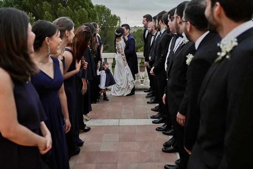 Fotos de novios con invitados