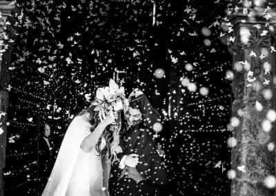 La boda de invierno de Gloria y David