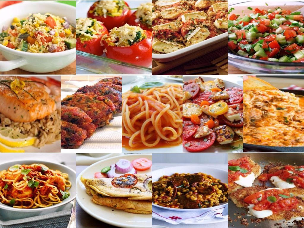 20 Different Types Of Dishes Of Tomatoes