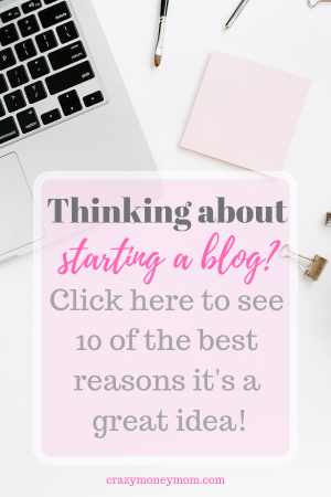 10 Reasons You Should Start a Blog