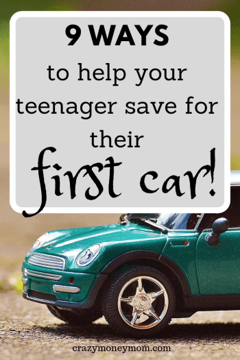 9 Ways for your Teenager to Save for Their First Car