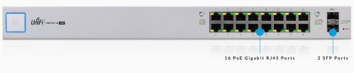 UniFi Switch PoE 16 Ports 150 Watts 8 1