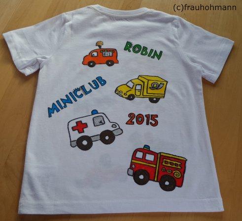 Tutorial Textilspruhfarbe Fashin Spray Tshirt Bemalen Lillesol